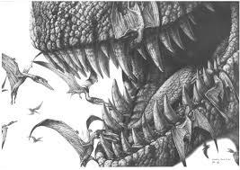 tyrannosaurus rex pterodactylus by paleopastori on deviantart