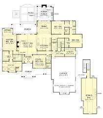 craftsman ranch house plan on the drawing board 1350 house