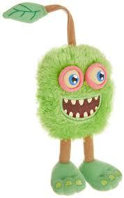 My Singing Monster Amazon Com My Singing Monsters Furcorn Plush Toys Games