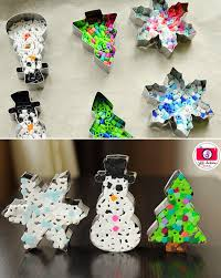 creative ornaments diy from cookie cutters