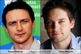 Meme Tobey Maguire - james mcavoy totally looks like tobey maguire cheezburger
