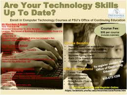 reminder are your technology skills up to date fall 2012
