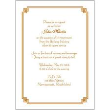 fancy invitations 25 personalized retirement invitations rpit 23 fancy