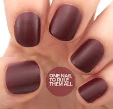 nail art style barry m autumn winter 2013 classic matte nail
