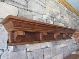 Mantel Shelf Designs Wood by Rustic Fireplace Mantel Shelf Corbels Victorian Craftsman Cabin