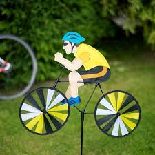 cycling wind cyclist wind spinner the present finder