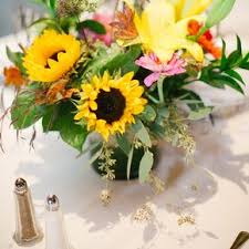 sunflower centerpiece sunflower wedding centerpieces