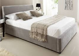 ottoman beds with mattress serenity upholstered ottoman storage bed steel grey ottoman beds