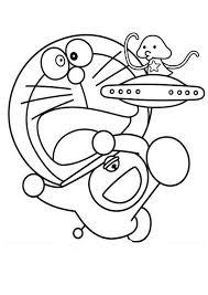 doraemon cute alien coloring pages netart