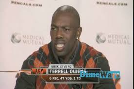 Terrell Owens Meme - t o show 2 gallery the many struggle faces of terrell owens