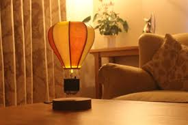 i am into this magnetic levitating lamp that looks like a air