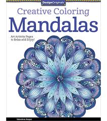 creative coloring mandalas coloring book for adults joann