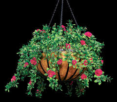 Plastic Flowers Outdoor Artificial Flowers Hanging Baskets Artificial Flowers Decor