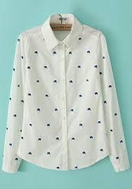 elephant blouse white elephant print sleeve blouse blouses tops