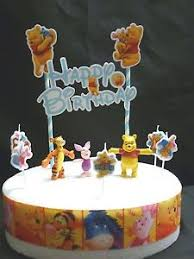 cake topper figure decorating birthday winnie the pooh cake
