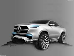 mercedes pickup mercedes benz x class pickup concept 2016 picture 24 of 29