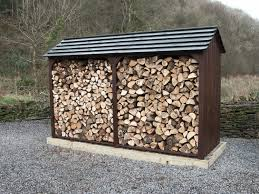 wood sheds designs that ensure a clean burning fire shed