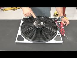 electric radiator fans and shrouds mustang scott drake electric fan and shroud kit 1965 1966 youtube