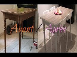 vernis table cuisine retaper sa table en bois vernis