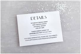 Wedding Invitations Information The Essential Guide To Wedding Invitation Info Cards Roseville