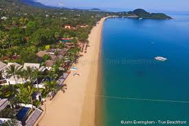 koh samui u0027s most famous beaches are found on the east coast
