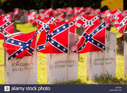 Rebel Flags Images Confederate Rebel Flags Decorate Grave Markers Of Soldiers Killed