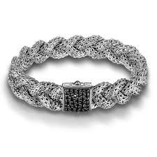 braided bracelet with chain images John hardy 15mm black sapphire braided bracelet jpg