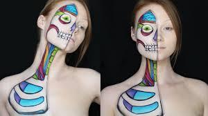 cartoon anatomy makeup tutorial youtube