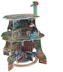 fisher price thomas the train table thomas friends wooden railway up around sodor adventure tower