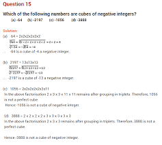 cubes and cube roots ncert extra questions for class 8 maths