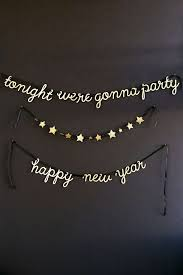 New Year S Eve Decoration Pinterest by Meri Meri New Year U0027s Party Garland Word Up Pinterest