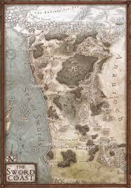 Forgotten Realms Map Candlekeep Forum The New Forgotten Realms Map 5e