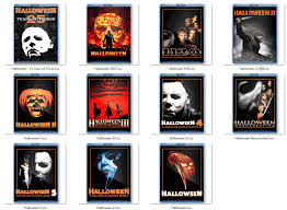 halloween movie folder icons download