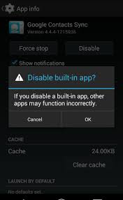 contact sync android android 4 4 phone contacts without account the bleeding