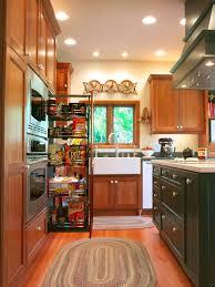 furniture wires organizer brick backsplash kitchen creative