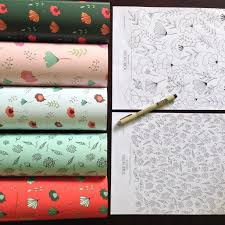 new class how to design print your own wrapping paper skillshare
