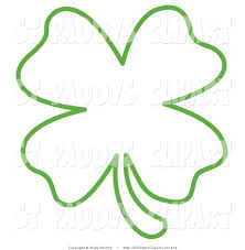 clover printable template clipart library clipart library