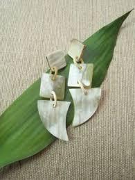 Long Chandelier Earrings Dangle Earrings Green Star Buffalo Horn Chandelier Earrings Dangle Earrings Star
