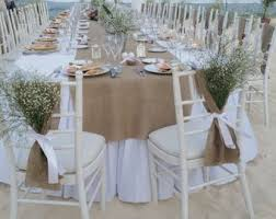 burlap wedding burlap and lace bows burlap chair sashes burlap chair and chair
