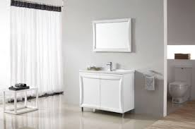 Framed Bathroom Vanity Mirrors by Attractive White Framed Bathroom Vanity Mirrors Over Single Hole
