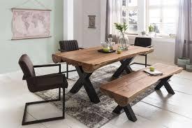 Bilder F Esszimmer Finebuy Esszimmertisch Akazie Landhaus Stil Voll Holz Design