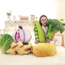 siege pomme de creative simulation fruits en peluche oreiller en peluche légumes