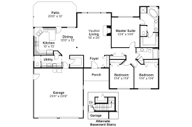 Ranch House Floor Plan Ranch House Plans Paxton 30 320 Associated Designs