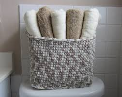 Towel Storage For Bathroom by Towel Storage Etsy