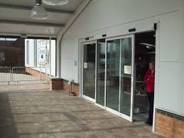 Curtain Shops In Stockport Automatic Swing Doors Entrance Disabled Door Access Infrared Radar