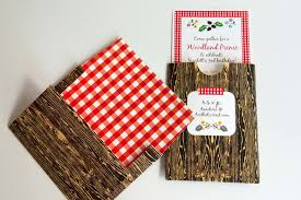 aesthetic nest invites woodland picnic birthday invitation