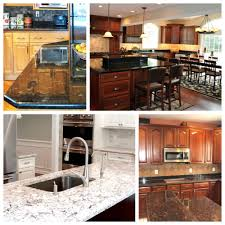 kitchen designs matching granite countertops with cabinets
