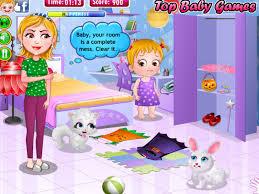 Baby Hazel Room Games - baby hazel halloween party fun baby games com