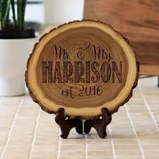 wood plaque wood plaque mr mrs harrison st out