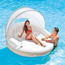 Floating Pool Lounge Chairs Gofloats Swan Partytube Inflatable Raft Float In Style For